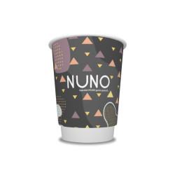 Vienslāņu vienreizējā kafijas krūzīte 200ml
