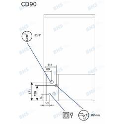 Ledus ģenerators CD90