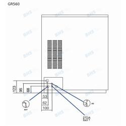 Ledus ģenerators GR560