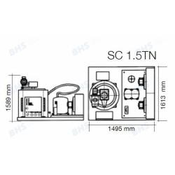 Ledus ģenerators SC1.5TN