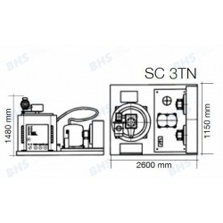 Ledus ģenerators SC3TN