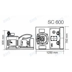 Ledus ģenerators SC600