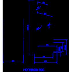 Plaukts HORNADA 800