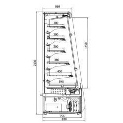 DOLCE R-1-110 Vitrīna