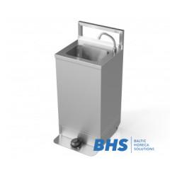 Bezkontakta mobilā rokas mazgāšanas stacija