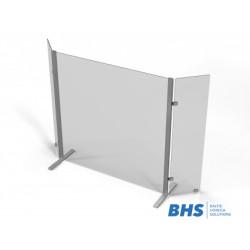 Countertop aizsargājošais ekrāns