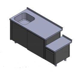 Projekts - N/T galds ar izlietni