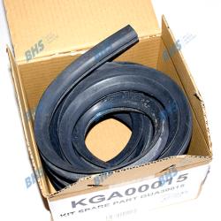 GASKET FOR OVEN DOOR 5500 mm GUA30015 PIRON 1 meter