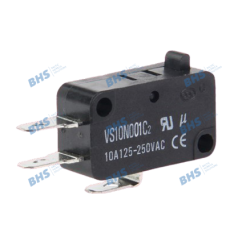 Snap switch; ON-(ON) nonfixed; 3pins; 10A/250VAC, SPDT 27.8x10.3x15.9mm, 10mm connector; without lever HIGHLY1