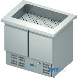 Aukstais marmīts 1000 mm ar ledusskapi