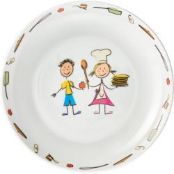 Bērnu dziļais šķīvis 200 mm