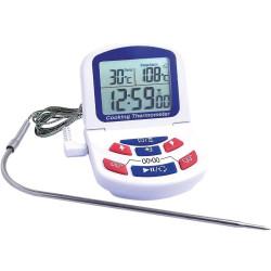 Termometrs digitālais ar zondi 0/ 300