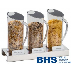 Brokastu dispensers 3x1.5 litri
