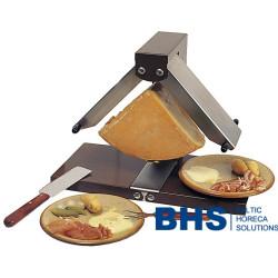Raclette grils ar elastīgiem sildītājiem