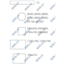 Galda virsma FNP D-49 cm