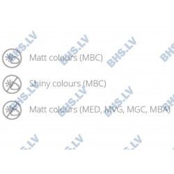 Galda virsma MBC 60x60 cm, kvadrātveida