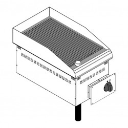 Drop-in elektriskais grils DFTR35E2