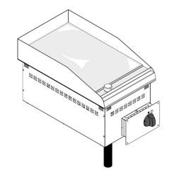Drop-in elektriskais grils DFTC35E2