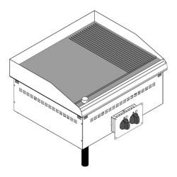 Drop-in elektriskais grils DFTR70E2