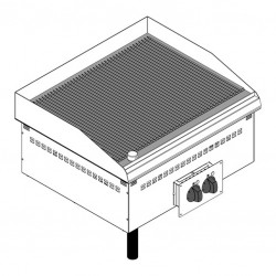 Drop-in elektriskais grils DFTRR70E2