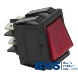BIPOLAR SWITCH RED 16A 250V