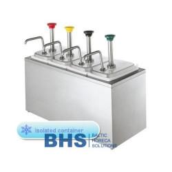 Dispenseri ar izolāciju ar 4 pumpjiem