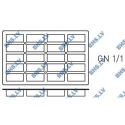 Silikona forma GN1/1 MINI-CAKE