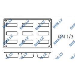 Silikona forma GN1/3 MINI-CAKE