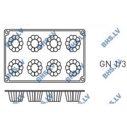 Silikona forma GN1/3 CANNELE BORDELAIS