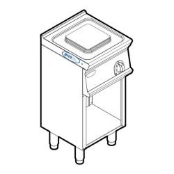 Elektriskā plīts PCM4FE7 2.6 kW