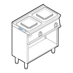 Elektriskā plīts PCM8FE7 5.2 kW