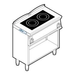 Indukcijas plīts PINM8FE7 7.0 kW