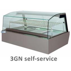 Karstā vitrīna KENTUCKY HOT 3GN self-service