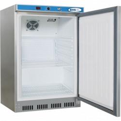 Ledusskapis 130 litri, nerūsējošais tērauds