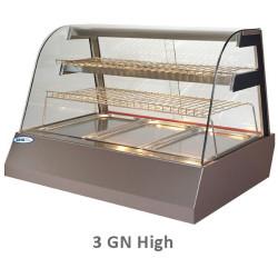 Karstā vitrīna KENTUCKY HOT 3GN High