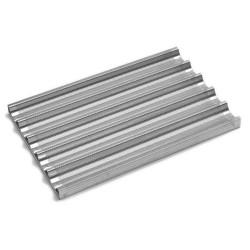Perforēta alumīnija panna 600x400