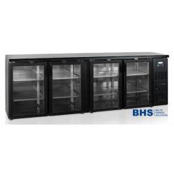 Bāra ledusskapis ar stikla durvīm CBC410G-P
