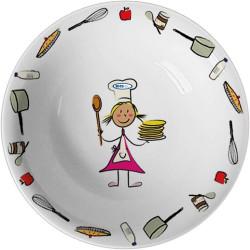 Bērnu dziļais šķīvis 170 mm