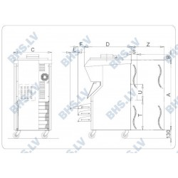 Elektromehāniskā saldējuma pagatavošanas iekārta BFE400A