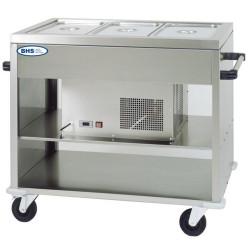 Ratiņi-ledusskapis CAR2779
