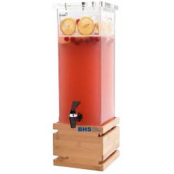 Dzērienu dispenseris 7.5 L ar bambusa paliktni