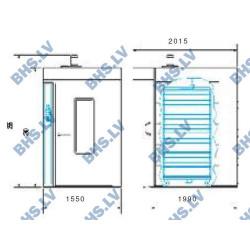 Elektriskā rotējošā krāsns E11/T11 Classic
