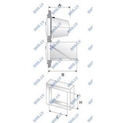 Iebūvējams atkritumu vāks E3075/2 bez atvilktnes