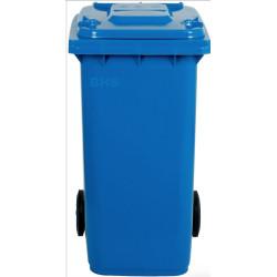 Atkritumu tvertne zila