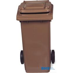 Atkritumu tvertne brūna