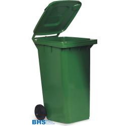 Atkritumu tvertne zaļa