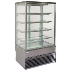 GEORGIA Square 1000 High Cold (4 shelves) - double glass