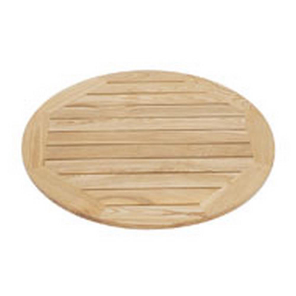 Koka galda virsma D-60 cm