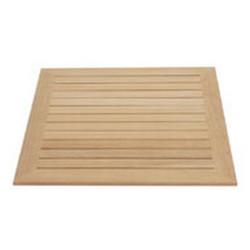 Koka galda virsma 60x60 cm