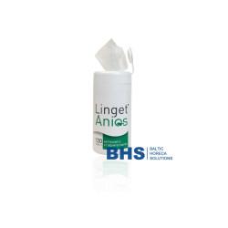 Tīrošas un dezinficējošas salvetes Linget Anios N120